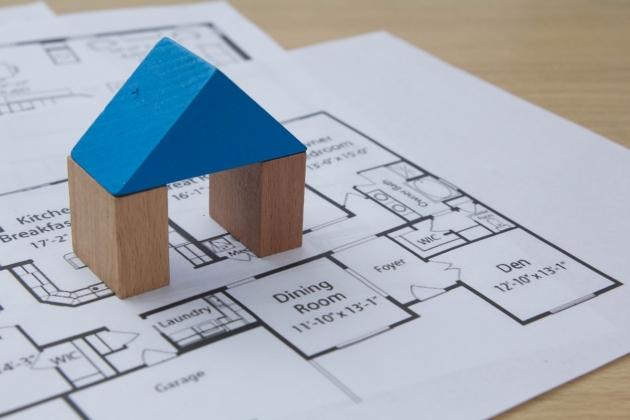 家の模型②